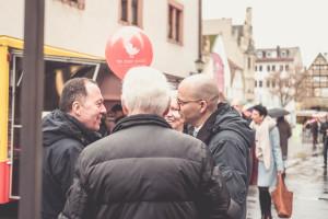 Dr. Dirk Vogel, zukünftiger Oberbürgermeister, Bad Kissingen